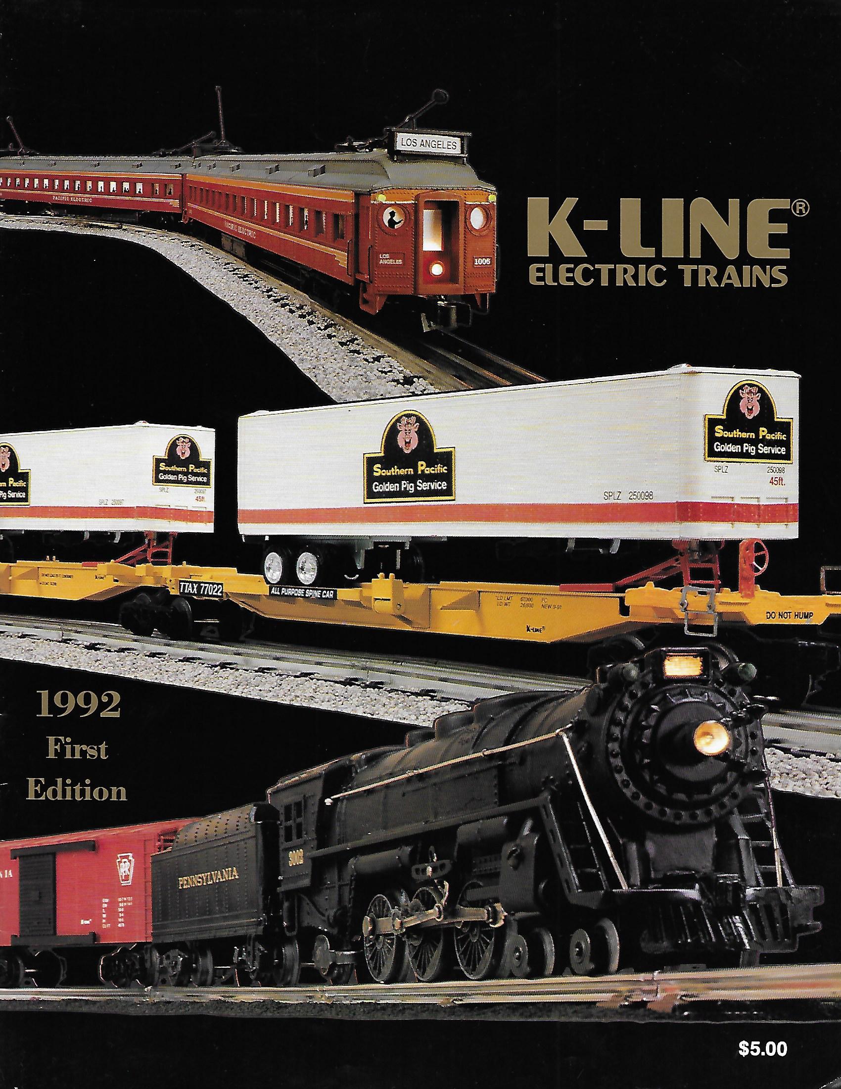 MTH 2004 Volume 2 Catalog Rail King /& Premier O Gauge Trains lionel k line books